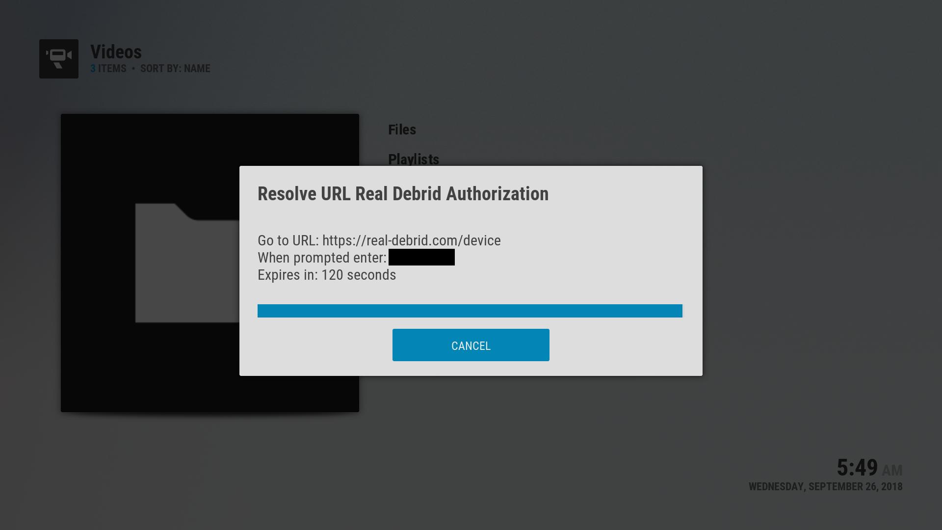 Configuring Real-Debrid – TV4Free xyz